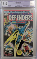 "1975 ""Defenders"" Issue #28 Marvel Comic Book (CGC Restored 8.5) at PristineAuction.com"