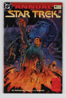 "Leonard Nimoy Signed LE 1993 ""Star Trek Annual"" Issue #4 DC Comic Book (JSA COA) at PristineAuction.com"