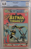 "1975 ""Batman Family"" Issue #1 DC Comic Book (CGC 6.0) at PristineAuction.com"