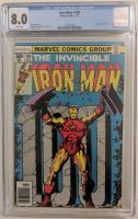 "1977 ""Iron Man"" Issue #100 Marvel Comic Book (CGC 8.0) at PristineAuction.com"