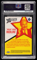 """""""Mean"""" Gene Okerlund Signed 2007 Topps Heritage II Chrome WWE #70 L (PSA Encapsulated) at PristineAuction.com"""