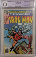 "1979 ""Iron Man"" Issue #118 Marvel Comic Book (CGC Restored 9.2) at PristineAuction.com"