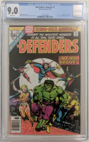 "1976 ""Defenders Annual"" Issue #1 Marvel Comic Book (CGC 9.0) at PristineAuction.com"