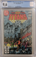 "1986 ""The New Teen Titans"" Issue #26 DC Comic Book (CGC 9.6) at PristineAuction.com"