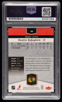 Dustin Byfuglien Signed 2006-07 Flair Showcase #26 RC (PSA Encapsulated) at PristineAuction.com