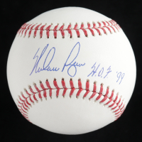 "Nolan Ryan Signed OML Baseball With Display Case Inscribed ""H.O.F. '99"" (PSA COA - Graded 10) at PristineAuction.com"