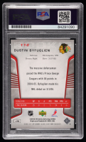 Dustin Byfuglien Signed 2006-07 SP Game Used #110 RC (PSA Encapsulated) at PristineAuction.com