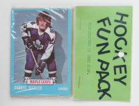 1973-74 Topps Hockey Card Fun Pack with (10) Cards (See Description) at PristineAuction.com