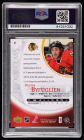 Dustin Byfuglien Signed 2006-07 Upper Deck Rookie Class #37 (PSA Encapsulated) at PristineAuction.com