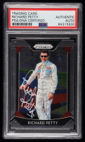 Richard Petty Signed 2019 Panini Prizm #40 (PSA Encapsulated) at PristineAuction.com