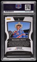 Richard Petty Signed 2018 Panini Prizm #47 (PSA Encapsulated) at PristineAuction.com