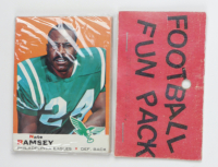 1969 Topps Football Card Fun Pack with (10) Cards (See Description) at PristineAuction.com