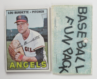 1967 Topps Baseball Card Fun Pack with (10) Cards (See Description) at PristineAuction.com
