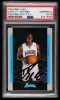 Dwight Howard Signed 2004-05 Bowman #129 RC (PSA Encapsulated) at PristineAuction.com