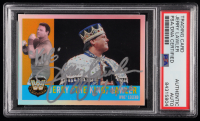 "Jerry ""The King"" Lawler Signed 2006 Topps Heritage Chrome WWE #80 L (PSA Encapsulated) at PristineAuction.com"