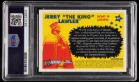 """Jerry """"The King"""" Lawler Signed 2006 Topps Heritage Chrome WWE #80 L (PSA Encapsulated) at PristineAuction.com"""