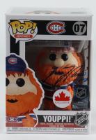 "Guy Lafleur Signed ""Youppi!"" Canadiens #07 Funko Pop! Vinyl Figure (PSA COA) at PristineAuction.com"