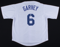 "Steve Garvey Signed Jersey Inscribed ""1981 WS Champs"" (Beckett COA) (See Description) at PristineAuction.com"