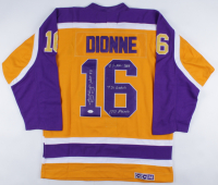 Marcel Dionne Signed Kings Jersey with Multiple Inscriptions (JSA COA) at PristineAuction.com