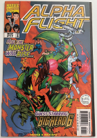 "Stan Lee Signed 1998 ""Alpha Flight"" Issue #17 Marvel Comic Book (Lee COA) at PristineAuction.com"