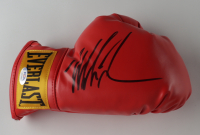 Mike Tyson Signed Pair of Everlast Boxing Gloves With Photo Display Case (PSA COA) at PristineAuction.com