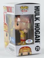 "Hulk Hogan Signed ""WWE"" Hulk Hogan #71 Funko Pop! Vinyl Figure  (PSA COA) at PristineAuction.com"