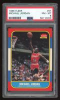 Michael Jordan 1986-87 Fleer #57 RC (PSA 8) at PristineAuction.com
