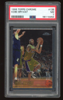 Kobe Bryant 1996-97 Topps Chrome #138 RC (PSA 7) at PristineAuction.com
