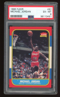 Michael Jordan 1986-87 Fleer #57 RC (PSA 6) at PristineAuction.com