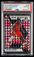 Zion Williamson 2019-20 Panini Mosaic Mosaic Pink Camo #269 (PSA 10) at PristineAuction.com
