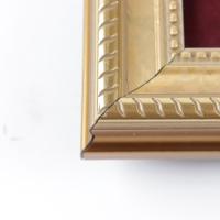 Vintage Disneyworld Pass Holder 12x12 Custom Framed Pin Set Display with Retired Brer Rabbit Bronze Pin (See Description) at PristineAuction.com