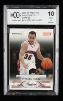 Stephen Curry 2009-10 Prestige Bonus Shots Orange #230 (BCCG 10) at PristineAuction.com