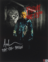 """Ari Lehman Signed """"Friday the 13th"""" 11x14 Photo Inscribed """"The OG Jason"""" (PA COA) at PristineAuction.com"""
