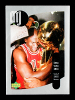 Michael Jordan 1998 Upper Deck MJ Sticker Collection #79 at PristineAuction.com