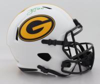Jordan Love Signed Packers Full-Size Lunar Eclipse Alternate Speed Helmet (Beckett Hologram) at PristineAuction.com