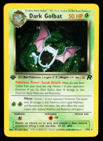 Dark Golbat 2000 Pokemon Team Rocket 1st Edition #7 Holo at PristineAuction.com