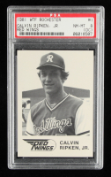 Cal Ripken Jr. 1981 Rochester Red Wings WTF #1 (PSA 8) (OC) at PristineAuction.com