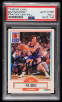 Dan Majerle Signed 1990-91 Fleer #150A (PSA Encapsulated) at PristineAuction.com