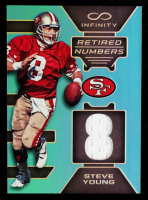 Steve Young 2016 Panini Infinity Retired Numbers Jerseys #24 at PristineAuction.com
