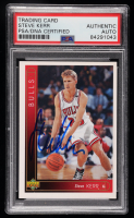 Steve Kerr Signed 1993-94 Upper Deck #324 (PSA Encapsulated) at PristineAuction.com
