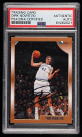 Dirk Nowitzki Signed 1998-99 Topps #154 RC (PSA Encapsulated) at PristineAuction.com