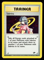 Sabrina 2000 Pokemon Gym Challenge Unlimited #20 Holo at PristineAuction.com