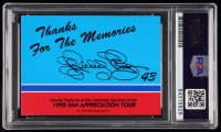 Richard Petty Signed 1992 Fan Appreciation Tour Card (PSA Encapsulated) at PristineAuction.com