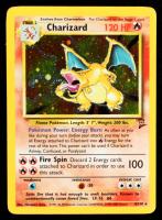 Charizard 2000 Pokemon Base 2 Unlimited #4 Holo at PristineAuction.com
