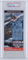 Dale Earnhardt Sr. Signed 1998 Daytona 500 Ticket (PSA Encapsulated) at PristineAuction.com
