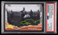 John Rosengrant Signed 2020 Star Wars The Mandalorian Journey of the Child #21 Meeting The Child (PSA Encapsulated) at PristineAuction.com