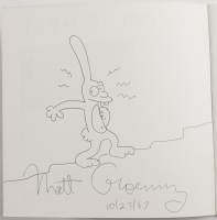 """Matt Groening Signed """"School Is Hell"""" Softcover Book Inscribed """"10/27/87"""" (Beckett LOA) at PristineAuction.com"""