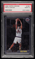 Vince Carter 1998-99 Topps Chrome #199 RC (PSA 9) at PristineAuction.com