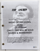 "George A. Romero & John Russo Signed LE ""The Anubis"" Movie Script Inscribed ""3-5-2011"" (Beckett COA) (See Description) at PristineAuction.com"