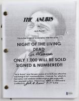 "George A. Romero & John Russo Signed LE ""The Anubis"" Movie Script Inscribed ""3-5-2011"" (Beckett COA) (See Description) at PristineAuction.com"